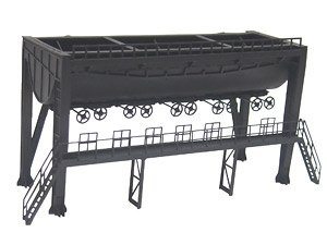 1/80(HO) New Type Single Track Coaling Tank (Unassembled Kit) (Model Train)