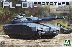 ポーランド軍 PL-01 試作軽戦車 「ステルスタンク」 (プラモデル)