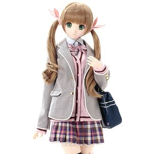 50cm Original Doll Happiness Clover Kina Kazuharu School Uniform Collection / Kureha (Fashion Doll)