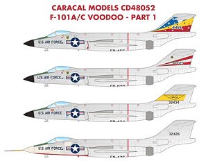 F-101A/C Voodoo Part 1 (Decal)