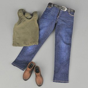 Tank Top & Jeans Set C (Fashion Doll)
