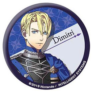 Fire Emblem: Three Houses Can Badge [Dimitri] (Anime Toy)