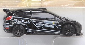 Ford Fiesta RS WRC Black (Diecast Car)