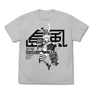 Kantai Collection Shimakaze T-Shirt Cumatic Battle Mode ASH M (Anime Toy)
