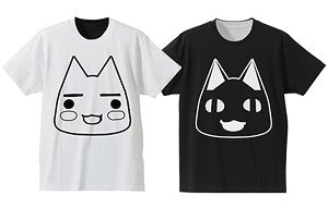 Dokodemo Issho Reversible T-Shirt White x Black M (Anime Toy)