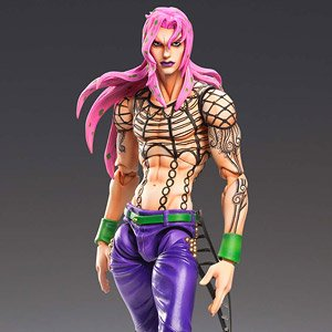Super Figure Action JoJo`s Bizarre Adventure Part 5 [Diavolo] (PVC Figure)