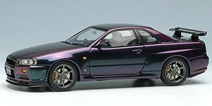 Nissan Skyline GT-R (BNR34) V-spec Special Edition 1999 Midnight Purple II (Diecast Car)