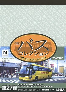 The Bus Collection Vol.27 (12 Types + Secret/Set of 12) (Model Train)