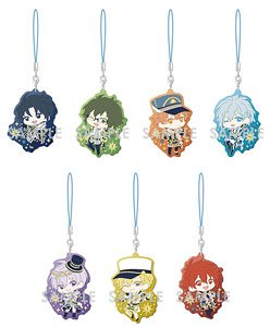 Idolish 7 Clear Rubber Strap -Collection Album Ver.- [IDOLiSH7] (Set of 7) (Anime Toy)