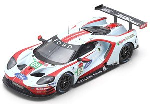 Ford GT No.69 Ford Chip Ganassi Team USA 24H Le Mans 2019 R.Briscoe R.Westbrook (Diecast Car)