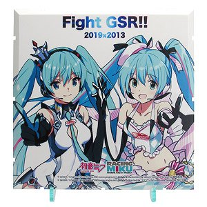 Dioramansion 150: Racing Miku 2019 Pit Optional Panel (Rd.2 Fuji) (Anime Toy)