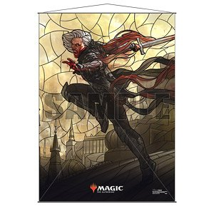 Ultra PRO Official Magic: The Gathering Wall Scrolls - War of the Spark Stained Glass Planeswalkers Sorin (Anime Toy)