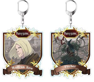 Fairy Gone Reversible Big Key Ring Wolfran Row (Anime Toy)