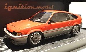 schwarz 1//43 Ebbro Honda Ballade Sports CR-X Si 1982 44372