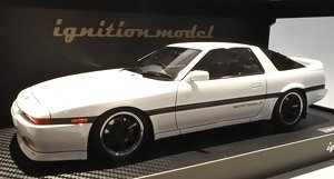 Toyota Supra 3.0GT Turbo A (MA70) White (Diecast Car)