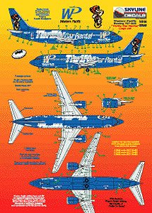 Western Pacific Airlines Thrifty (Decal)