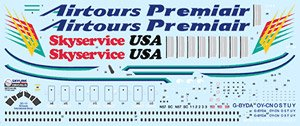 Airtours Group DC-10 (Decal)