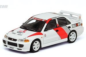 Mitsubishi Lancer GSR Evolution III Ralliart Malaysia Limited (Diecast Car)