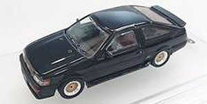 Toyota Corolla Levin AE86 Black w/Wheel Set, Decal (Diecast Car)