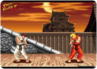 Character Universal Rubber Mat Street Fighter Ii Ryu Stage