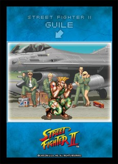 Broccoli Character Sleeve Street Fighter Ii Waiting Guile Card