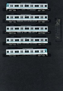 Keio Series 1000 (5th Edition, Blue Green) Five Car Formation Set (w/Motor) (5-Car Set) (Pre-colored Completed) (Model Train)