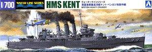 英国重巡洋艦ケント ベンガジ攻撃作戦 (プラモデル)