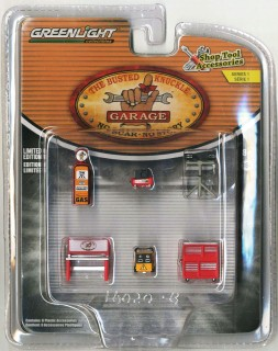 GREENLIGHT 1//64 BUSTED KNUCKLE GARAGE  SHOP TOOLS SET ACCESSORIES 16020-B