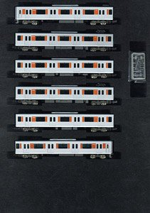 Tobu Type 50000 (Tojo Line, Rollsign Lighting) Standard Six Car Formation Set (w/Motor) (Basic 6-Car Set) (Pre-colored Completed) (Model Train)