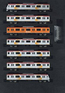 Tokyu Series 6000 (w/Q Seat Car, Pay Seat Designation Service Formation) Seven Car Formation Set (w/Motor) (7-Car Set) (Pre-colored Completed) (Model Train)