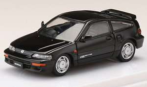 Honda CR-X SiR (EF8) Black (Diecast Car)