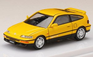 Honda CR-X SiR (EF8) Yellow (Diecast Car)