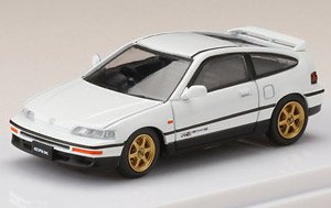Honda CR-X SiR (EF8) Custom Version White (Diecast Car)
