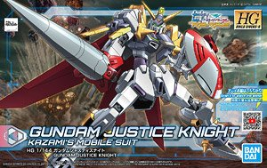 Gundam Justice Knight (HGBD:R) (Gundam Model Kits)