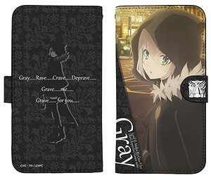 The Case Files of Lord El-Melloi II: Rail Zeppelin Grace Note Gray Notebook Type Smart Phone Case 138 (Anime Toy)