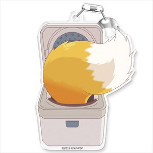 The Helpful Fox Senko-san Acrylic Key Ring [Rice Steamer Senko-san] (Anime Toy)