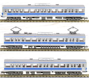 The Railway Collection Izuhakone Railway Series 3000 (Formation 3505) (3-Car Set) (Model Train)