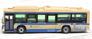 The All Japan Bus Collection 80 [JH038] Yokohama Traffic Development Limited (Model Train)