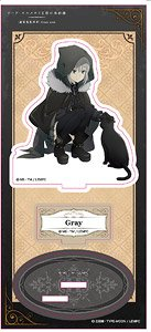 [The Case Files of Lord El-Melloi II: Rail Zeppelin Grace Note] Acrylic Stand/Gray (Anime Toy)