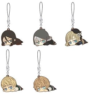[The Case Files of Lord El-Melloi II -Rail Zeppelin Grace Note-] Darun Rubber Starp Collection (Set of 5) (Anime Toy)