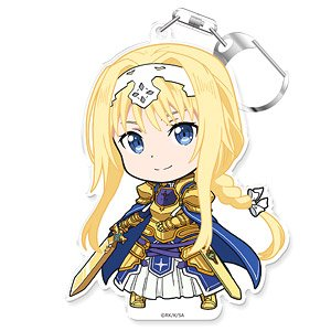 Sword Art Online Puni Colle! Key Ring (w/Stand) Alice [Alicization] (Anime Toy)