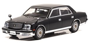 Toyota Century (GZG50) 2010 Kamui Eternal Black (Diecast Car)