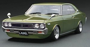Nissan Laurel 2000SGX (C130) Green Hayashi-Wheel (Diecast Car)
