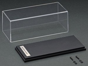 1/43 Scale Display Case (Carbonseal) (Case, Cover)