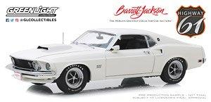 Black 1969 Ford Mustang Boss 429 Greenlight Barrett Jackson Limited Edition