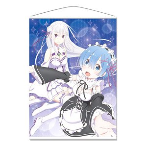 Ova Re Zero Starting Life In Another World Memory Snow B1 Tapestry A Emilia Rem Anime Toy Hobbysearch Anime Goods Store