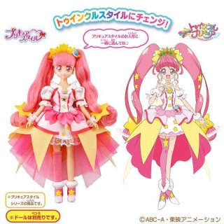 BANDAI Star Twinkle PreCure Pretty Cure Style Cure Star Twinkle Style DX Doll JP