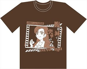 Girls und Panzer das Finale First Breakthrough T-Shirt/L Size Chi-Ha-Tan Academy (Anime Toy)