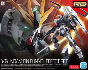 Nu Gundam Fin-Fannel Effect Set (RG) (Gundam Model Kits)