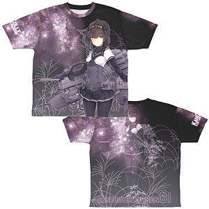 Kantai Collection Hatsuzuki Double Sided Full Graphic T-Shirts S (Anime Toy)